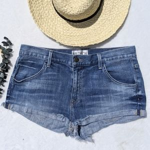 Wildfox raw hem medium Wash Cutoffs Shorts